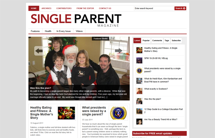 Single Parent Magazine