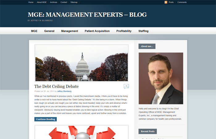 MGE: Management Experts – Blog