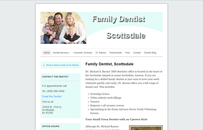 Family Dentist Scottsdale