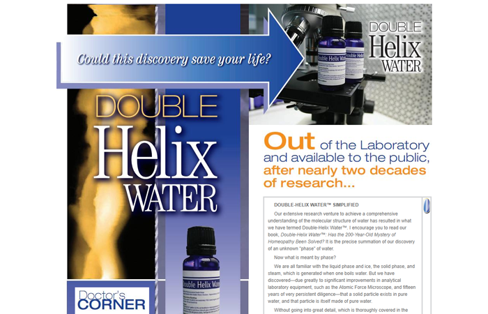 Doctor Deva's Double Helix Water