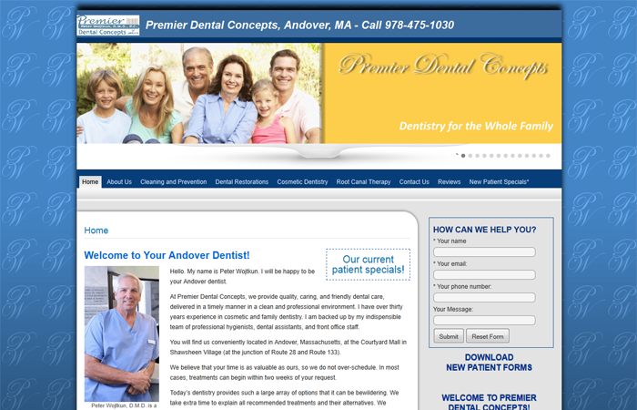 Premier Dental Concepts, Andover