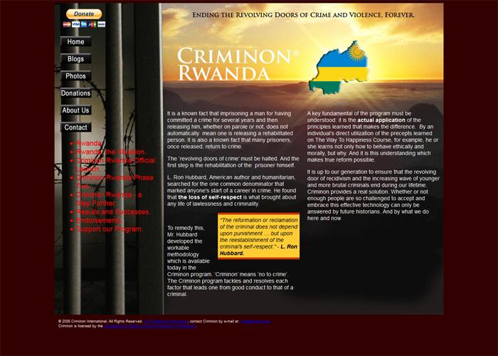 Criminon Rwanda