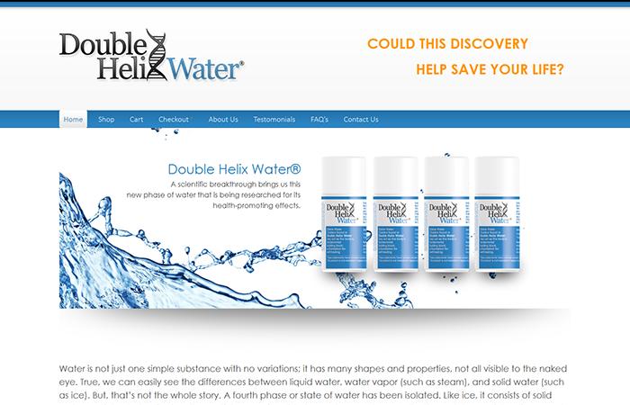 Double Helix Water